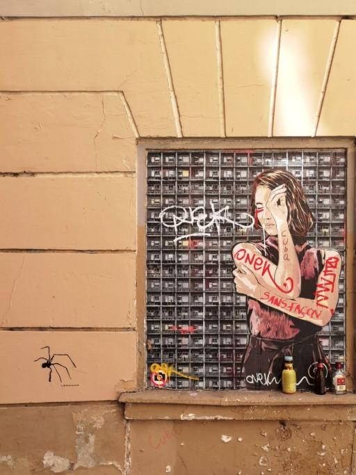 Dominik Uebbing, Street Art #2 Graffito, Paris