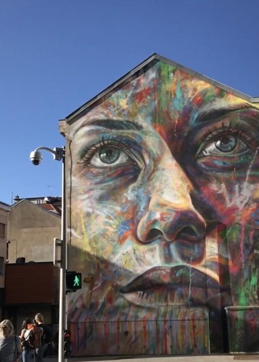 Karin Matthes-Strelow, Gesichter Frankreichs, in der Stadt Nancy