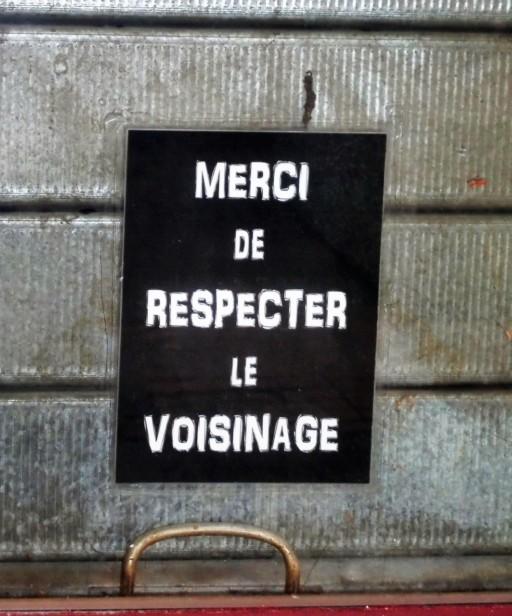 Heyer Christine, Dankschreiben auf Französisch,Vienne