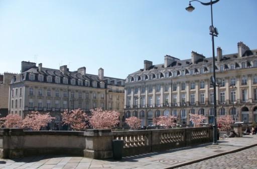 Ria Pozybill, La Place du Parlement de Bretagne, Rennes