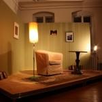Galerie als Wohnzimmer