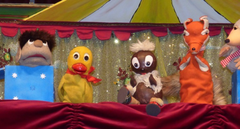 """WIRD VERLEGT! Show-Express Könnern """"Pittiplatsch – So ein Zirkus!"""" … PuppenTHEATER"""