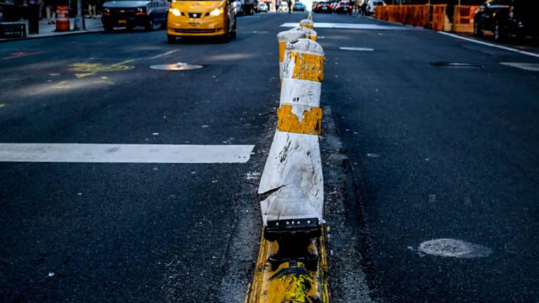 Straßenszene in New York. Foto von Charlotte Kliem, Ausstellung geplant 2021.